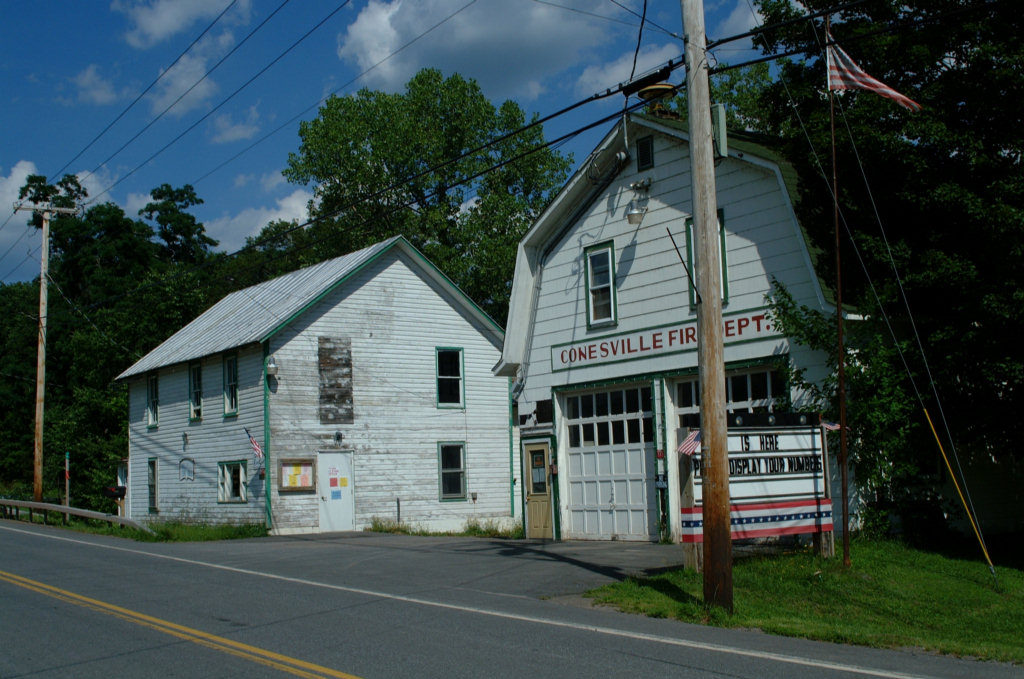 Town Hall and Fire House, Conesville Township, NYconesville town